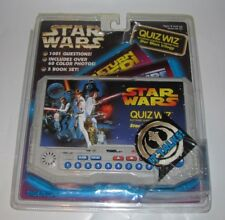 1997 TIGER ELECTRONICS STAR WARS QUIZ WIZ TRIVIA ELECTRONIC Q&A GAME NEW SEALED