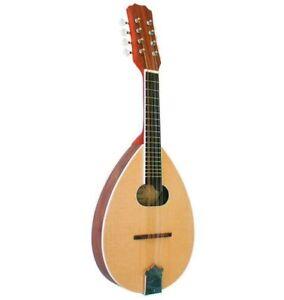 MANDOLINE 8 cordes en bois de Noyer