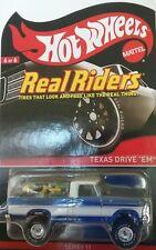 Hot Wheels RLC Real Riders TEXAS DRIVE 'EM Series 11 2012
