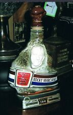 STUNNING boxing WORLD CHAMPION boxer ROCKY MARCIANO whiskey decanter BOSTON