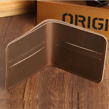 New Slim Small Size Mini Men's Wallets Genuine Leather Wallet Credit Card Holder