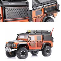 Metall Werkzeugkoffer Body Tool Box Für 1/10 TRAXXAS TRX4 Defender D90 D110 RC