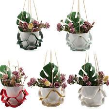 Leather Plant Hanger Plant Hanging Basket Plant Stands for Home Decoration