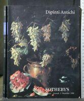 SOTHEBY'S. MILANO. DIPINTI ANTICHI. Catalogo asta 2 dicembre 1999.
