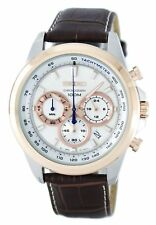 Seiko Chronograph Quartz Tachymeter SSB250 SSB250P1 SSB250P Mens Watch