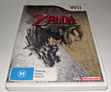 Legend of Zelda Twilight Princess Nintendo Wii PAL *Complete* Wii U Compatible