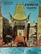 RARE 1960 GRAUMAN'S CHINESE THEATRE HOLLYWOOD SOUVENIR BOOKLET MARILYN MONROE