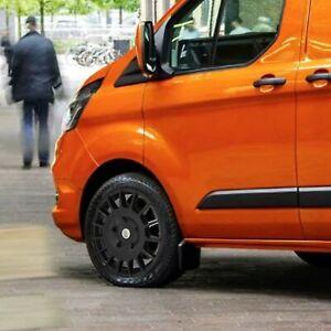 "8x18"" Black Alloy Wheels XL Tyres Fits All Ford Transit Custom MK6 MK7 MK8 Sport"