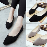 Fashion Women Lady Slip On Casual Flats Boat Single Shoes Leather Loafers Shoes