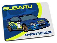Subaru Impreza WRC Rally Car Mouse Mat