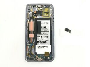Samsung Galaxy S7 SM-G930V Midframe & Touchscreen Assembly w/ Battery - Black