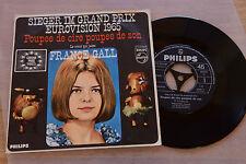 FRANCE GALL Poupee de cire rare mono 7'' inch single Philips 373 524 BF nm!!!!