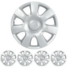 Hubcaps for 15 Inch Wheel Cover Protection Durable ABS OEM Replacement 4 Piece