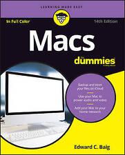 Macs for Dummies, 14th Edition by Edward C. Baig (Paperback, 2016)