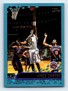 2001-02 Topps VINCE CARTER basketball card  #10 TORONTO RAPTORS.