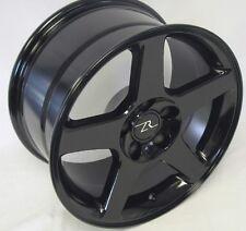 "17"" Black 03 Mustang Cobra Style Wheels 17x9 Inch 5x114.3 Terminator Rims 94-04"