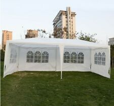 10x20' Outdoor Wedding Canopy Party Tent Gazebo Pavilion Catering Event - White