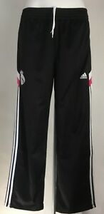 REAL MADRID BLACK ANTHEM PANTS BY ADIDAS SIZE MEN'S XL BRAND NEW WITH TAGS