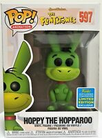Funko Pop Hoppy The Hopparoo # 597 The Flintstones SDCC 2019 Vinyl Figure New