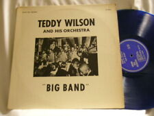 TEDDY WILSON Big Band Ben Webster Al Casey Doc Cheatham J.C. Heard BLUE vinyl LP
