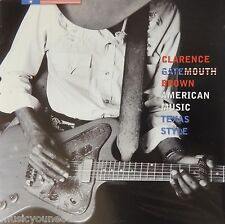 Clarence Gatemouth Brown - American Music Texas Style (CD, 1999) VG++ 9/10