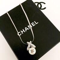 Herrliche Perlen CC Kette Necklace Hergestellt Aus Orig. Vintage Chanel  Knopf 2455433c545