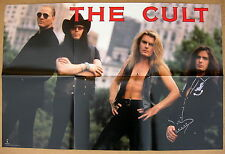 The Cult Sonic Temple 1990 Us Promo Poster Minty! Sweet Soul Sister Ian Astbury