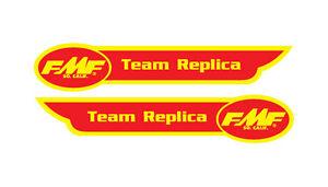 FMF Team Replica old school BMX sticker kit 2 Decals included
