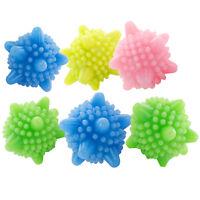 6pcs Decontamination Laundry Ball Anti-Winding Washing Ball Dryer Balls Spec F8A