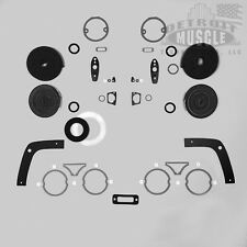 DMT Mopar B Body 1968 68 Dodge Charger Exterior Paint Gasket Set Seals