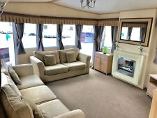 Static Caravan For Sale In North Wales With Free Standing Furniture