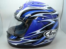 Arai RX7 Helmet RX-7 Corsair Randy Mamola Blue Small replica moto gp NICE!