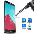 Premium TEMPERED GLASS SCREEN PROTECTOR ANTI SCRATCH FILM For LG Mobiles UK SELL