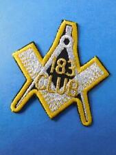 Masonic Lodge 183 Club Vintage Patch Badge Crest Collector Free Mason