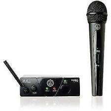 AKG Wms40 Mini Vocal Set Ism1 Wireless Microphone System