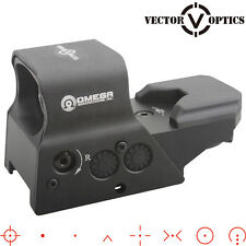 Vector Optics Combat Tactical Reflex Red Dot Sight Scope w/ US Design 8 Reticles