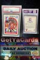1989/90 Hoops All Star Michael Jordan #21 PSA 8