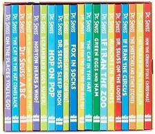 The Wonderful World of Dr. Seuss 20 Reading Books Collection Gift Box Set by Dr. Seuss (Hardback, 2000)
