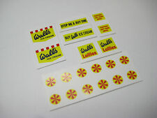 CORGI 447 Walls Ice Cream Van Stickers - B2G1F