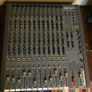 Studiomaster Pro2 Mixer 163 DJ Analog Mixing Console 10/12ch Microphone input