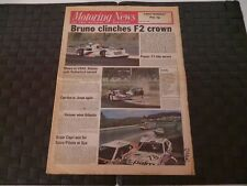 MOTORING NEWS 27 JULY 1978 BRUNO GIACOMELLI F2, ROVER 2300, MALCOLM WILSON