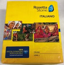 NEW! Rosetta Stone  ITALIANO - ITIALIAN  Level 1 - Mac / Windows