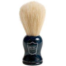 Boar Bristle Shaving Brush with Blue Wood Handle