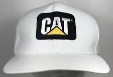 Vintage CAT DIESEL POWER 80s Hat Cap Patch USA Louisville MFG CO CATERPILLAR