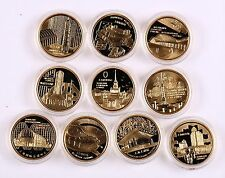 1999 China Giltbrass medal Ten Gold-Prize-Winning Classical Building in Shanghai