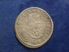 6 Kreuzer ( VI) 1673 Graz Leopold I. ( IAN )  W/18/1129