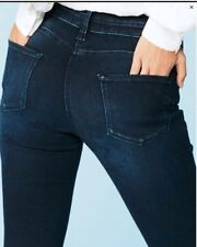 New Womens Blue Relaxed Crop NEXT Jeans Size 18 16 14 12 10 8 RRP £32