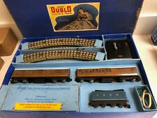 Hornby Dublo train set + lots of additions in original boxes. Sir Nigel Gresley