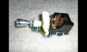 Billet Aluminum GM Chevy GMC Headlight Switch dash dimmer street rod truck