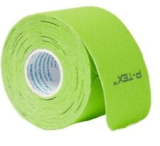 P-TEX Elastic Kinesiology Tape Wrap Green 20 Precut strips